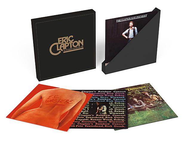 Clapton Live Box Set-Exploded packshot